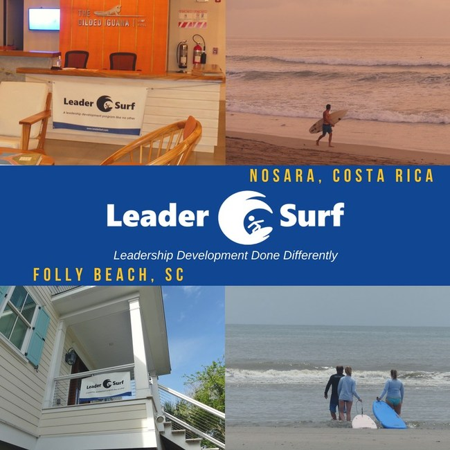 LeaderSurf Folly Beach, SC and Nosara, Costa Rica leadership development programs in paradise