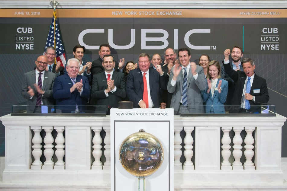 Cubic Concludes Analyst and Investor Day with Ringing of the NYSE Closing Bell