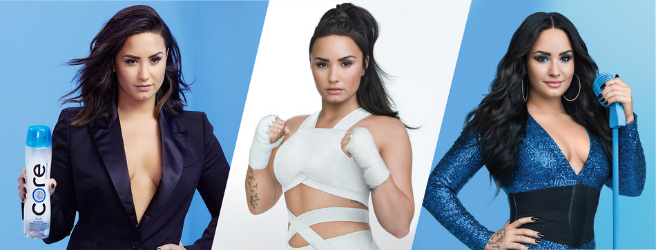 CORE® Hydration Finds Balance with Demi Lovato in National Multimedia Campaign