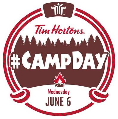 Le Jour des camps (Groupe CNW/Tim Hortons)