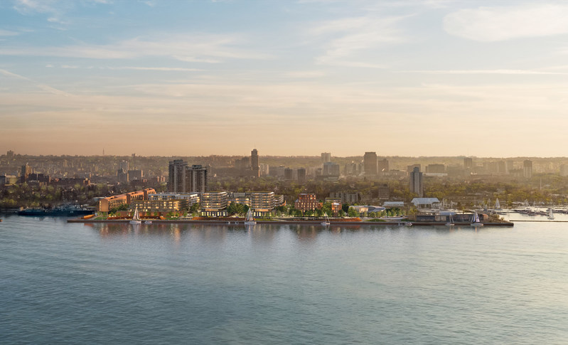 Waterfront Shores Aerial (CNW Group/Waterfront Shores Corporation)