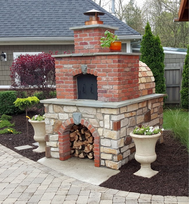 Diy Wood Fired Outdoor Brick Pizza