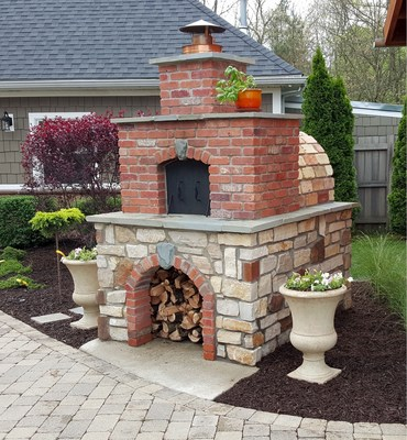 Diy Wood Fired Outdoor Brick Pizza Ovens Are Not Only Easy To Build They Add Incredible Property Value
