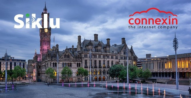 Connexin and Siklu Deliver an Advanced mmWave Network for Business Broadband and Smart City Applications in the City of Bradford, UK