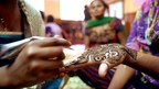 Stayfree India's Project Free Period entails three-day training modules for commercial sex workers, where they are taught a range of skills that include henna art, candle-making, embroidery and a basics beauticians' course. (PRNewsfoto/Johnson & Johnson India)