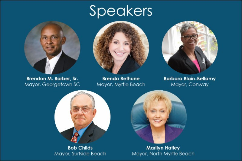Coastal Area Mayors Join SCPRSA for a Forum on Public Relations