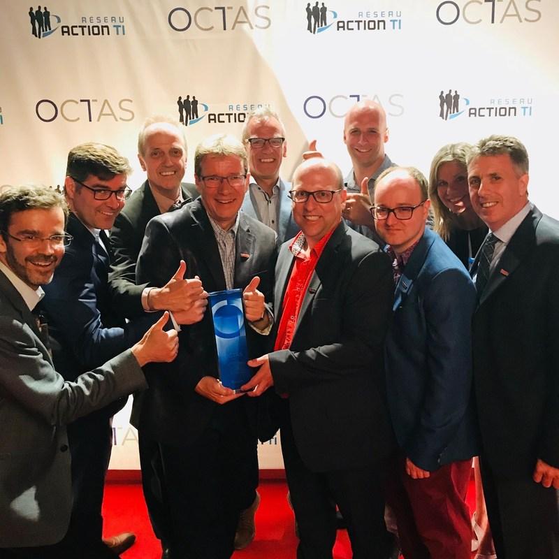 Un prestigieux prix décerné à Rio Tinto pour le développement technologique (Groupe CNW/Rio Tinto)