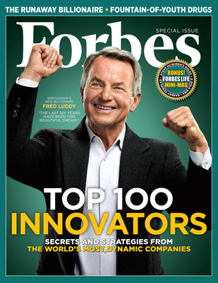 Forbes 8th Annual List of The World's 100 Most Innovative Companies