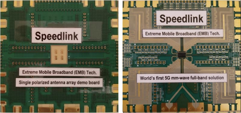 Speedlink Technology, Inc. Announces World's First 24GHz to 43GHz Full-band Transceiver for 5G Millimeter-wave Connectivity at IEEE IMS 2018 Conference in Philadelphia.