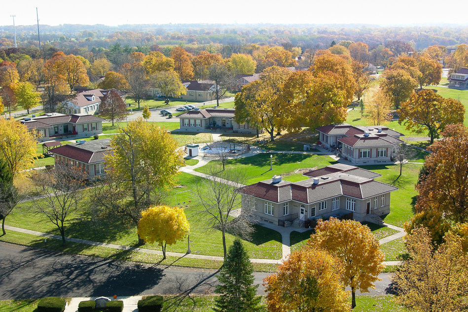 Mooseheart is a residential childcare facility, located on a 1,000-acre campus 38 miles west of Chicago. The Child City is a home for children and teens in need, from infancy through high school. Dedicated in July 1913 by the Moose fraternal organization, Mooseheart cares for youth whose families are unable, for a wide variety of reasons, to care for them.