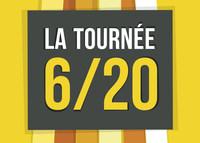 Visuel de la Tournée 6/20 (Groupe CNW/Commission de la capitale nationale du Québec (CCNQ))