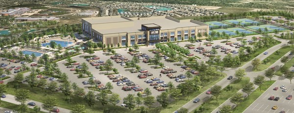 Rendering of Life Time Athletic Cypress