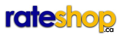 RateShop.ca is a new financial comparison platform that will help Canadians save on all their financial needs. (CNW Group/RateShop.ca)