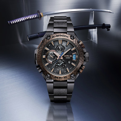 Extremely Limited Edition G-SHOCK MR-G Tsuiki Sword Guard Timepiece