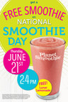 Celebrate National Smoothie Day with a FREE Smoothie