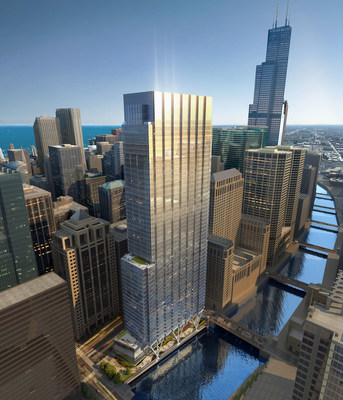 110 North Wacker Riverscape