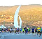 A popular destination for runners, the SunRype Okanagan Marathon is Kelowna's premier running event. (CNW Group/Sun-Rype Products Ltd.)