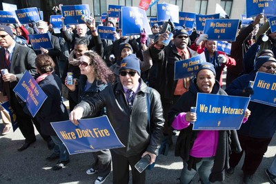 New legislation will restore due process rights for VA workers says largest federal union American Federation of Government Employees.