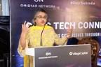 Roopa Kudva - Managing Director and Partner - Omidyar Network at Civic Tech Connect 2018 (PRNewsfoto/Omidyar Network)