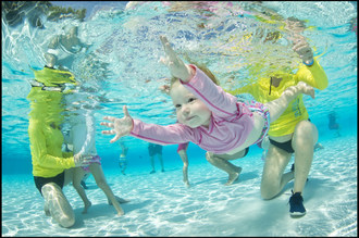 World's Largest Swimming Lesson™ (#WLSL) Kicks Off the First Day of Summer (6/21) with Global Event Teaching Kids & Parents How to Be Water Aware to Prevent Drowning.