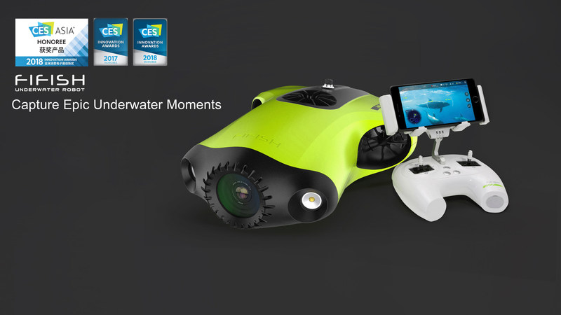 FIFISH P3, CES Innovation Award Winner