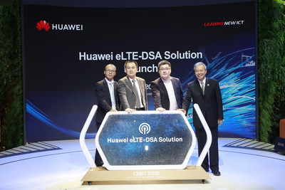 Huawei launched eLTE-DSA Solution