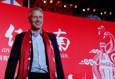 James Quincey, President and CEO of The Coca-Cola Company
