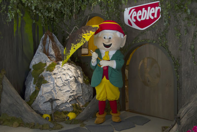 The Keebler Elves Invite Cookie Lovers to Celebrate National Fudge Day At 393 Broadway in NYC From 10am-6pm EST In Honor of Their New Keebler Whoopsy! Fudge Stripes Cookie.