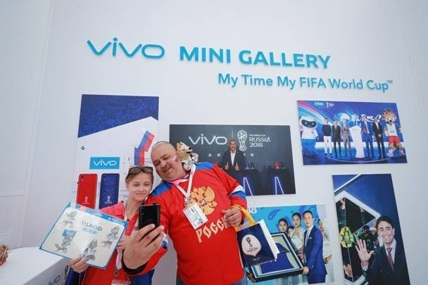 Vivo kicks off the celebration of 2018 FIFA World Cup(TM) in style