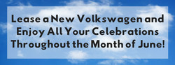 Summit-area shoppers can drive away in a newly-leased vehicle from Douglas Volkswagen.