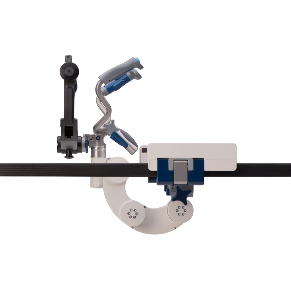 Providing fluid yet controlled motion is the focus of the Levó Head Positioning System. The System's design provides the user with an interface that is safe, fast, and easy to engage.