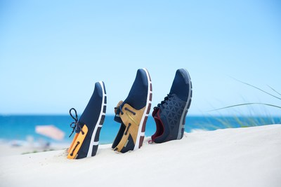 OCEANIA shoes are characterized by the quality and comfort of its materials – lightweight and breathable - as well as its smart and casual nautical style that can be worn day or night. (PRNewsFoto/Novus Inc.)