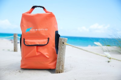 OCEANIA Dry backpack perfect for Summer adventures. Available at NOVUS (www.novushoes.com) (PRNewsFoto/Novus Inc.)