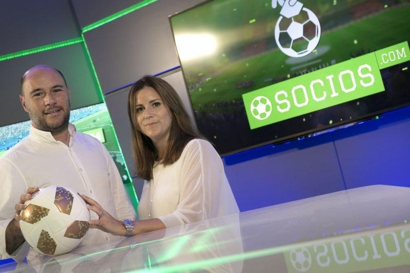 chiliZ CEO Alexandre Dreyfus and PR & Communications Director, Emma Diskin (PRNewsfoto/Mediarex)