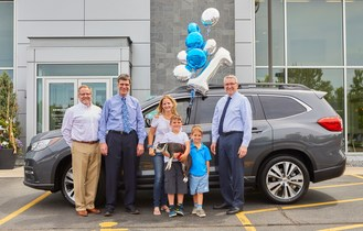 Subaru Of America, Inc. Sells First All-New 3-Row Ascent® SUV