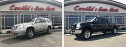 Grand Junction drivers can save on used Cadillac Escalade and Ford Super Duty F-350 models with local dealership Carville's Auto Mart.