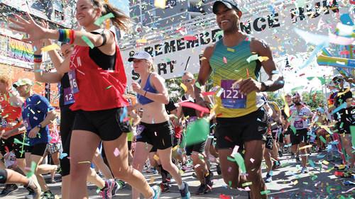 Pride & Remembrance Run - Toronto (Groupe CNW/BMO Groupe Financier)
