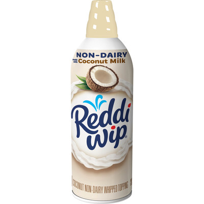 Reddi-wip Launches Non-Dairy Coconut Variety to Address Growing Consumer Demand for Plant-Based Foods