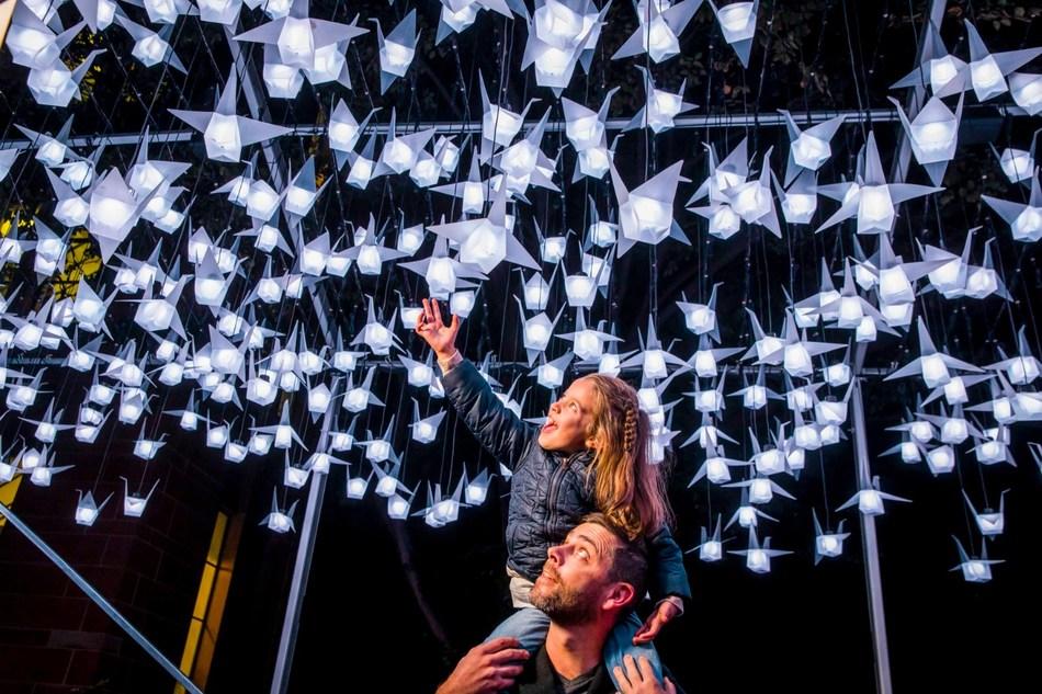 1000 Cranes (PRNewsfoto/Destination NSW)