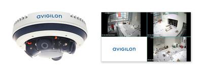 Figura 1. La nueva línea de cámaras H4 Multisensor ofrece una resolución total de hasta 32 MP, analíticos de video con autoaprendizaje, compresión H.265 y tecnologías de infrarrojos.