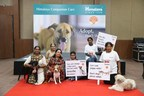 Himalaya companion care organised Build a Bond a pet adoption awareness drive in Bengaluru (PRNewsfoto/The Himalaya Drug Company)