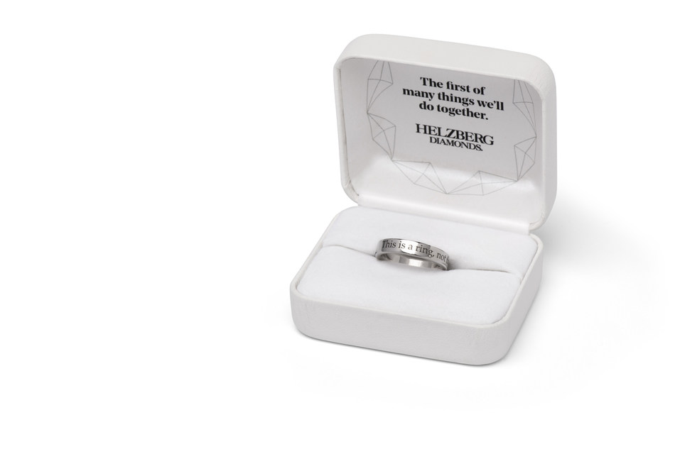 """Helzberg Diamonds Introduces The """"Will You?"""" Ring"""