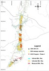 Figure 1: Map of deposit with depicted drilling program and resource classification (CNW Group/SRG Graphite)
