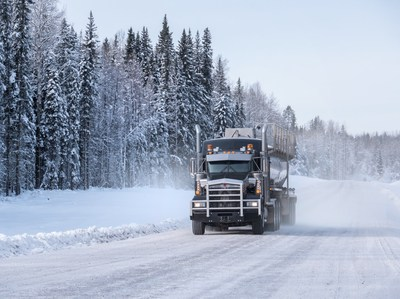 The MICHELIN® X® Works Grip D tire is Michelin's most aggressive drive-axle tire, specifically made for energy sector and logging fleets operating in extreme conditions. The tire's design process evolved from a client-centric co-creation process with drivers who travel the world's most demanding roads.