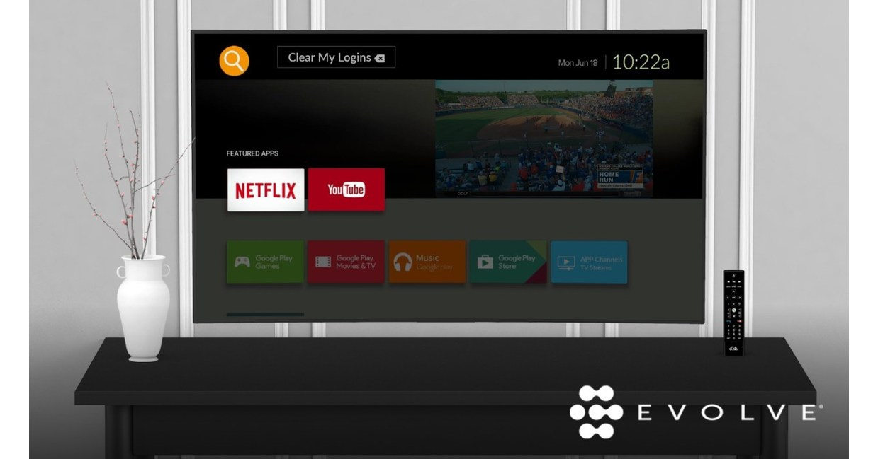 DISH's EVOLVE delivers Netflix, personalized TV entertainment to in-room guest experience