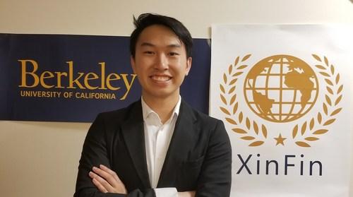 Alan Lai University of California Berkeley (PRNewsfoto/XinFin)