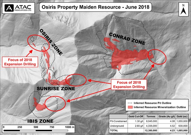 Osiris Project Maiden Resource Plan (CNW Group/ATAC Resources Ltd.)