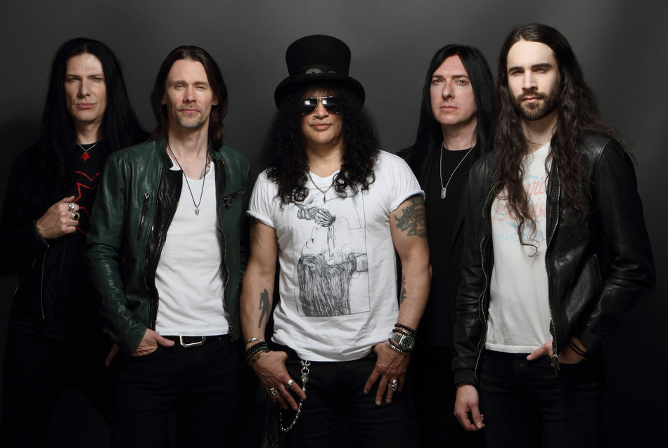Slash ft. Myles Kennedy & The Conspirators bring the Living the Dream Tour to Casino Rama Resort on Thurs. Oct. 4 (8 PM) (CNW Group/Casino Rama Resort)