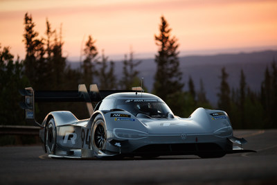 The Volkswagen I.D. R Pikes Peak is Volkswagen's first-ever, fully-electric race car.