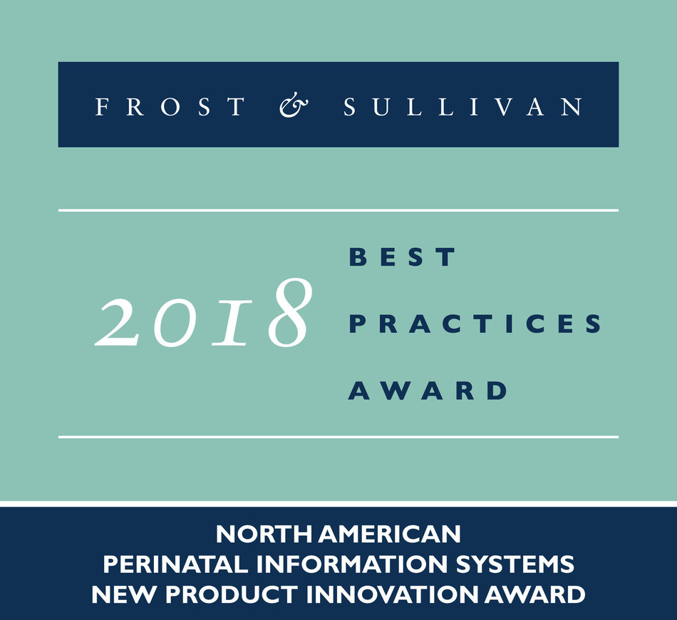 Frost & Sullivan recognizes PeriGen with the 2018 North America New Product Innovation Award for PeriWatch® Vigilance™, its new obstetrical early-warning system.